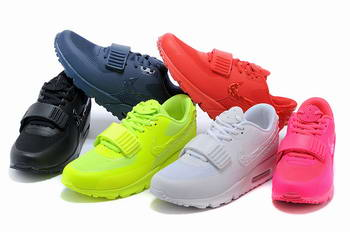 sale retailer 9b896 30ab4 Nike Air Yeezy II 2 SP Max 90 The Devil Series West femmes Chaussures tous  blanc jaune,nike air max elephant pas cher,nike air max flyknit 2014 pas  cher