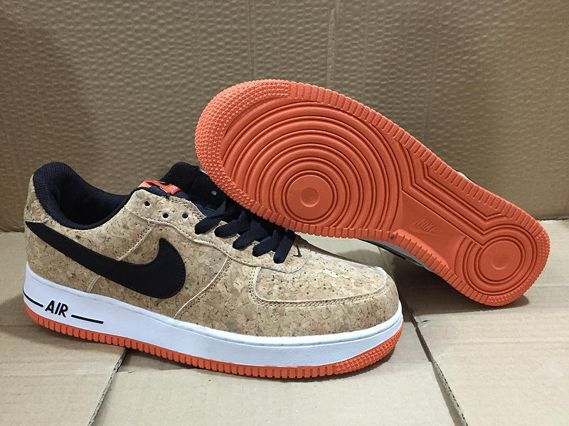 hot sale online ae151 3bf4f 2015 Nike Air Force 1 Cork Low Homme