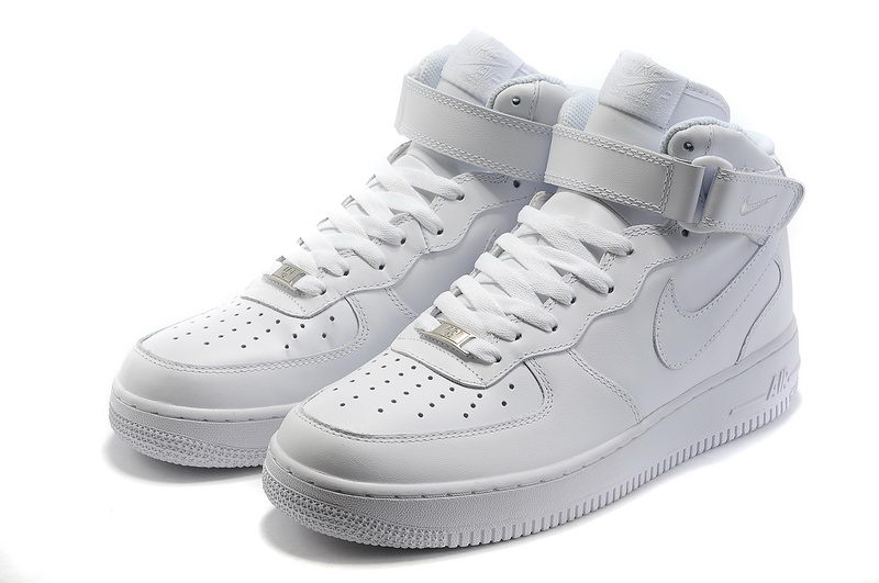 sports shoes 75800 1fbe1 Basket Nike Air Force 1 High Pour Homme Tous Blanc,Basket Mid 07 All White  315123-111