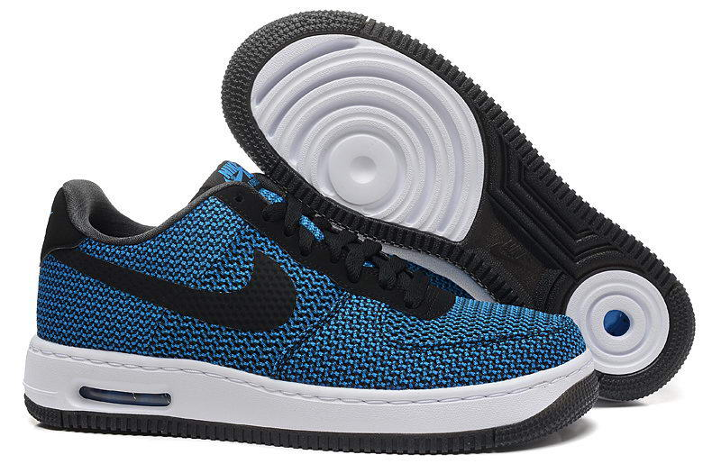 Nike Air Force 1 Low e Bleu - Chaussures Baskets basses Homme